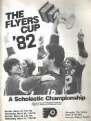 1982 Flyers Cup Tournament History Program