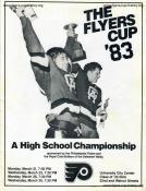 1983 Flyers Cup Tournament History Program