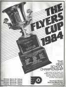 1984 Flyers Cup Tournament History Program