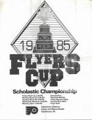 1985 Flyers Cup Tournament History Program