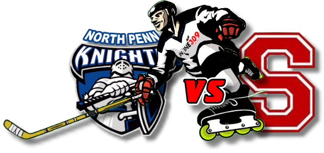 North Penn Knights vs Souderton Indians Inline Hockey Friday October 2, 2020