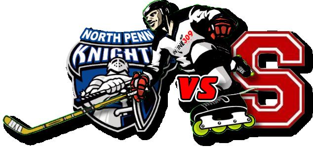 North Penn Knights vs Souderton Indians Inline Hockey Friday September 11, 2020