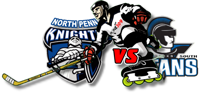 North Penn Knights vs CB South Titans Inline Hockey Friday September 18, 2020