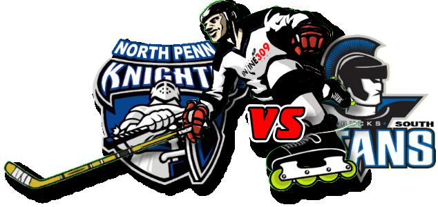 North Penn Knights vs CB South Titans Inline Hockey Friday September 18, 2020