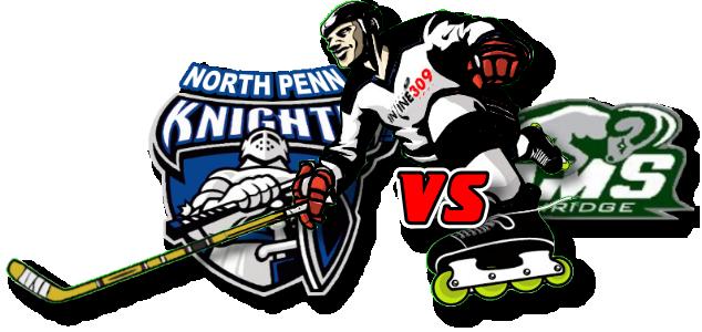 North Penn Knights vs Pennridge Rams Inline Hockey Friday September 25, 2020
