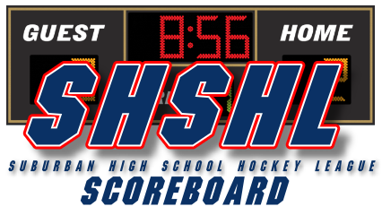SHSHL Varsity Scoreboard Thursday January 2, 2020